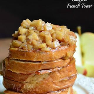 Apple Pie Stuffed French Toast.