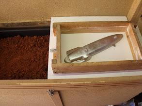 Photo: Le sable à l'huile étant tout près, ........