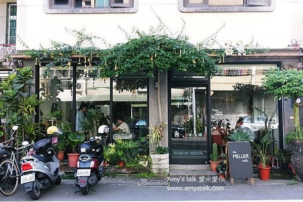 【食記】台南‧安平--充滿夢幻乾燥花的Meller 墨樂咖啡,戚風蛋糕必點