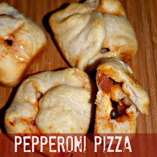 Pepperoni Pizza Puff Pockets