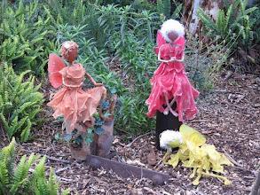 Photo: Faeries in my garden