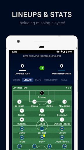 Goalwire Livescore 0.6.0 screenshots 2