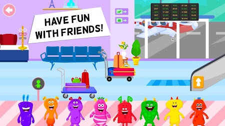 My Chompy Town - My Airport Games for Kids APK screenshot thumbnail 20