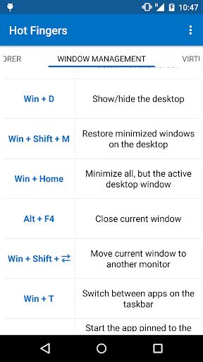 Hot Fingers - Windows 10