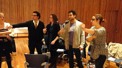 Photo: Cecily O'Neill, a pioneer in the field of Theatre Education, works with graduate candidates on January 15, 2011, during a Master Class. Students from MS 51 worked with Cecily, as graduate candidates observed and participated. The drama was inspired by the novel Lord of the Flies.