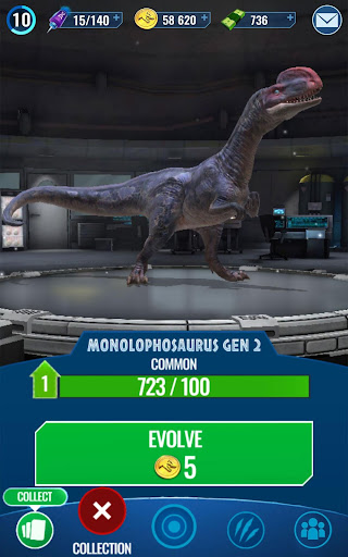 Jurassic World Alive - screenshot
