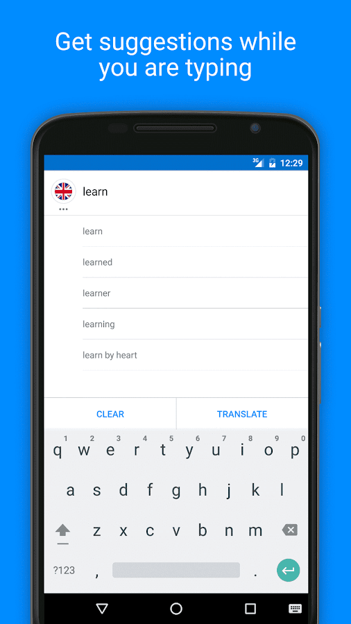 Free Translator & Dictionary- screenshot