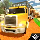 Zoo de camiones de transporte icon