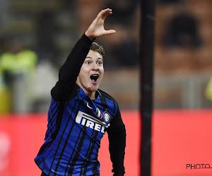 Un buteur acheté 9,5 millions d'euros par l'Inter Milan va débarquer en prêt en Belgique
