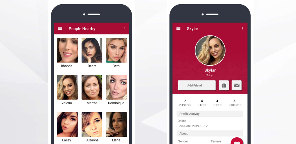 Social-networking-dating-apps für android