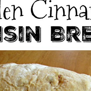 Golden Cinnamon Raisin Bread.