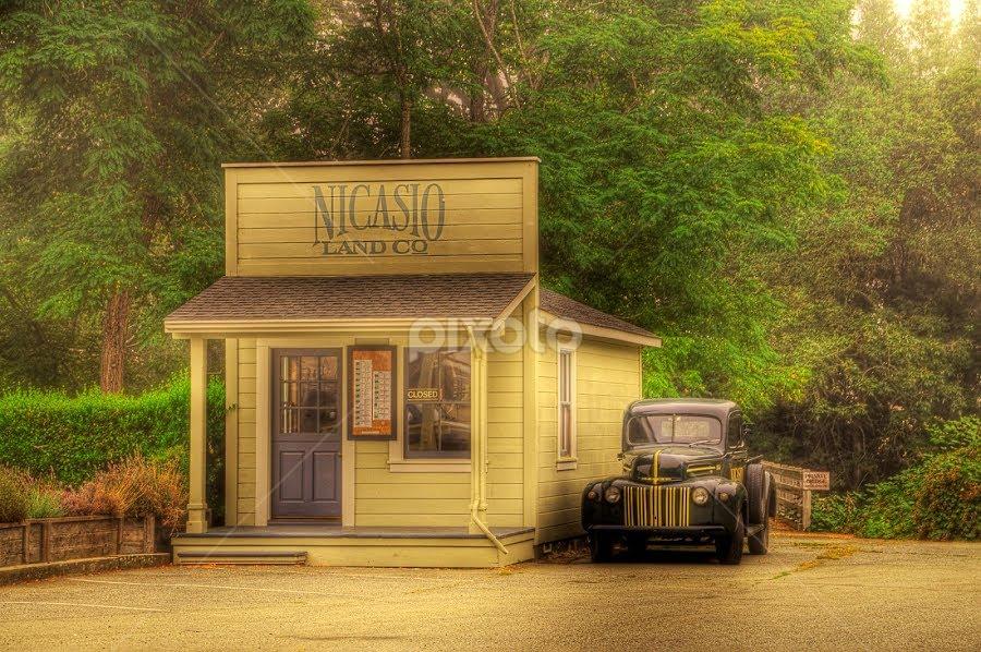 Nicasio Land Office by John Klingel - Landscapes Travel