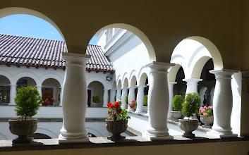 Photo: Courtyard view