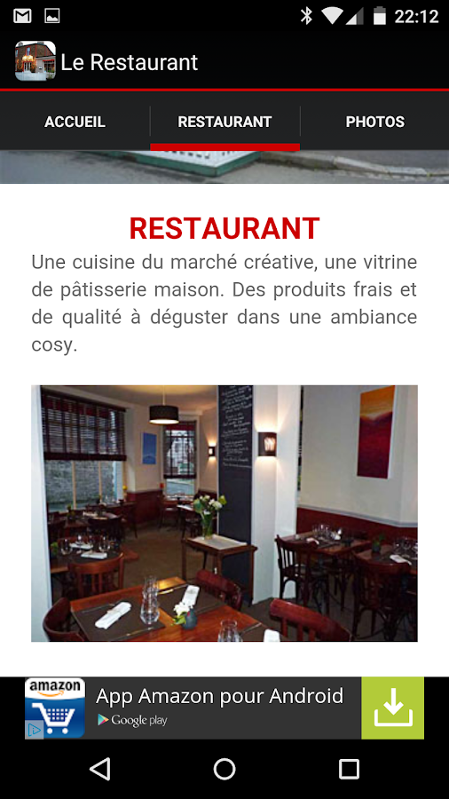 Le Balafon Restaurant- screenshot