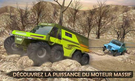Télécharger Gratuit 6x6 Coureur de boue Auto Dépanneuse Hors route APK MOD (Astuce) screenshots 2