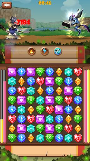 Gem warrior: Match 3 Adventure 3.0 {cheat|hack|gameplay|apk mod|resources generator} 4