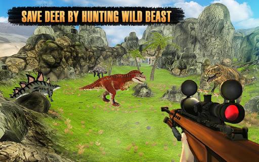 Dinosaur Hunter Free Wild Jungle Animals Safari  screenshots 5