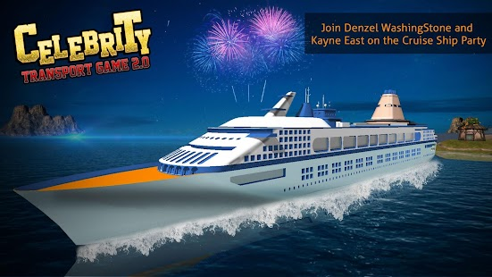 Celebrity Transport Game Cruise Ship Party Android Apps On - Cruise ship party