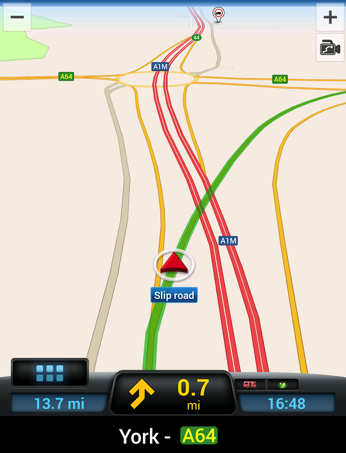 CoPilot Caravan Europe- screenshot