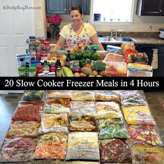 Crockpot Beef Hash Freezer Meal.