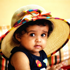 Innocence by Vikas Jorwal - Babies & Children Child Portraits ( baby girl, potrait, baby photography, baby, smile )