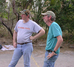 Photo: Brian Raber & Ed Riley in the Palm Grove parking lot.