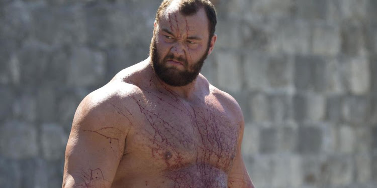 "The Mountain, as seen in ""Game of Thrones"""