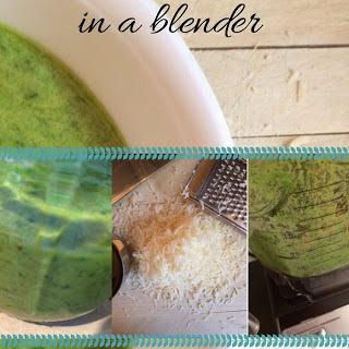 Making Pesto in a Blender Recipe