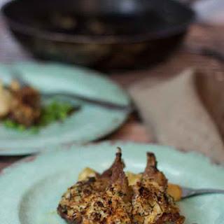 Weeknight Lamb Cutlets with Cheesy Panko Crust