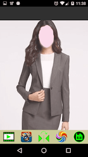 Photo Montage - Women Office Dresses - náhled