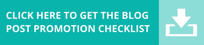 Getting the most out of your blog posts: A free checklist