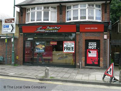 Pizza Hut Delivery On Marlowes Pizza Takeaway In Hemel