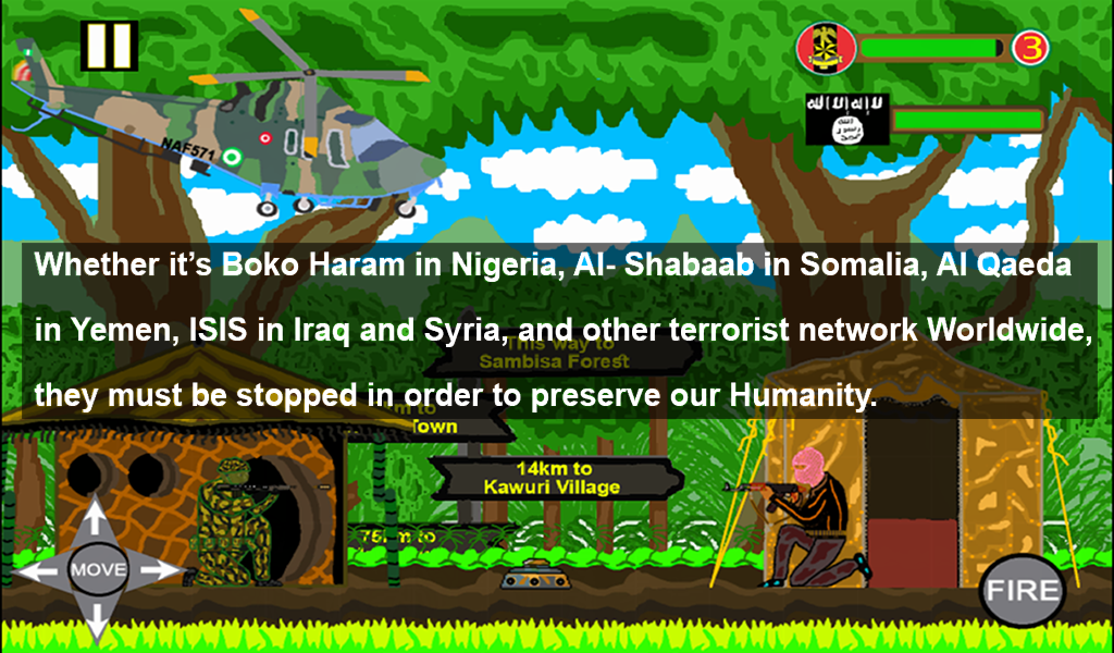 Operation Manumit: ChibokGirls- screenshot