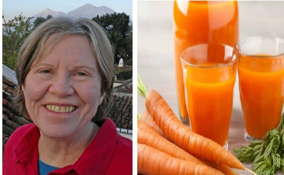 Man and woman cure stage 4 cancer by drinking carrot juice without chemotherapy
