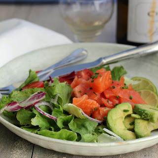 Smoked Salmon Salad.