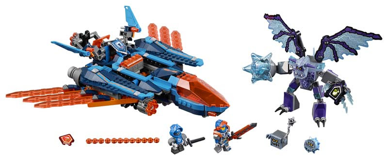 Contenido de Lego® 70351 Halcón Bláster de Combate de Clay