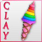 Clay Modelling : Ice Cream Icon