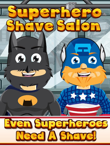 Superhero Shaving Adventure