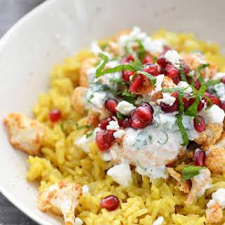 Tandoori Cauliflower Rice Bowls.