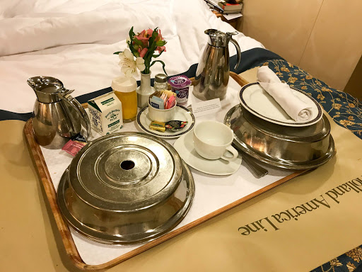 room-service-oosterdam.jpg - Room service comes at no additional cost on Holland America's Oosterdam.