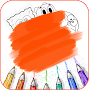 learn how to draw cartoon easy APK icon