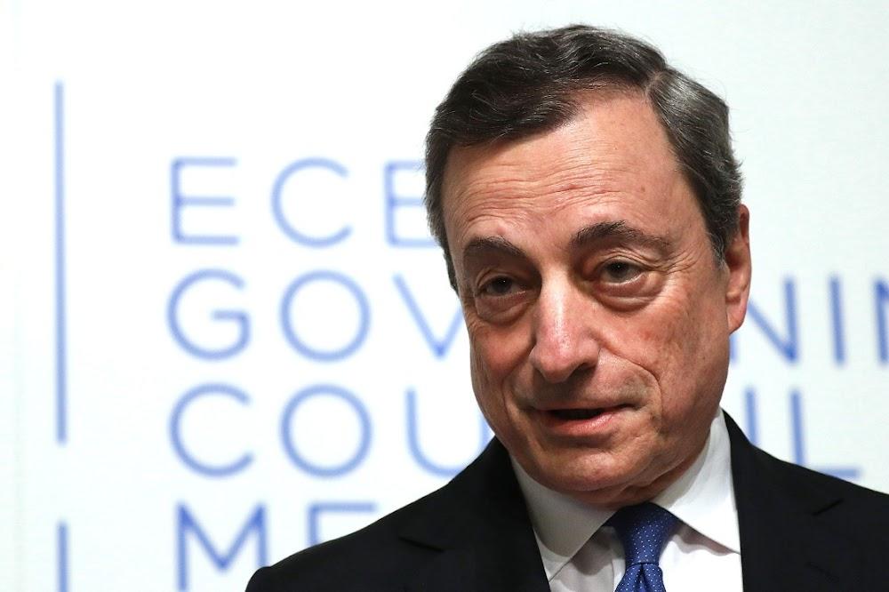 Mario Draghi verklaar die oorwinning oor die euro