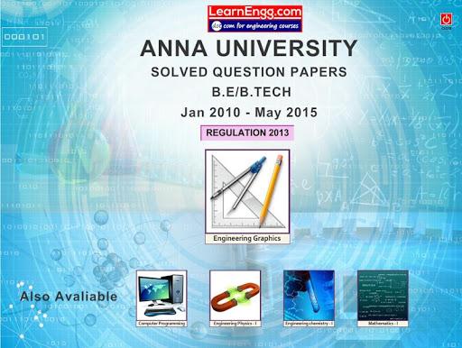 Anna Univ. Solved QB EG