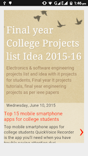Engineering Projects Idea list- screenshot thumbnail