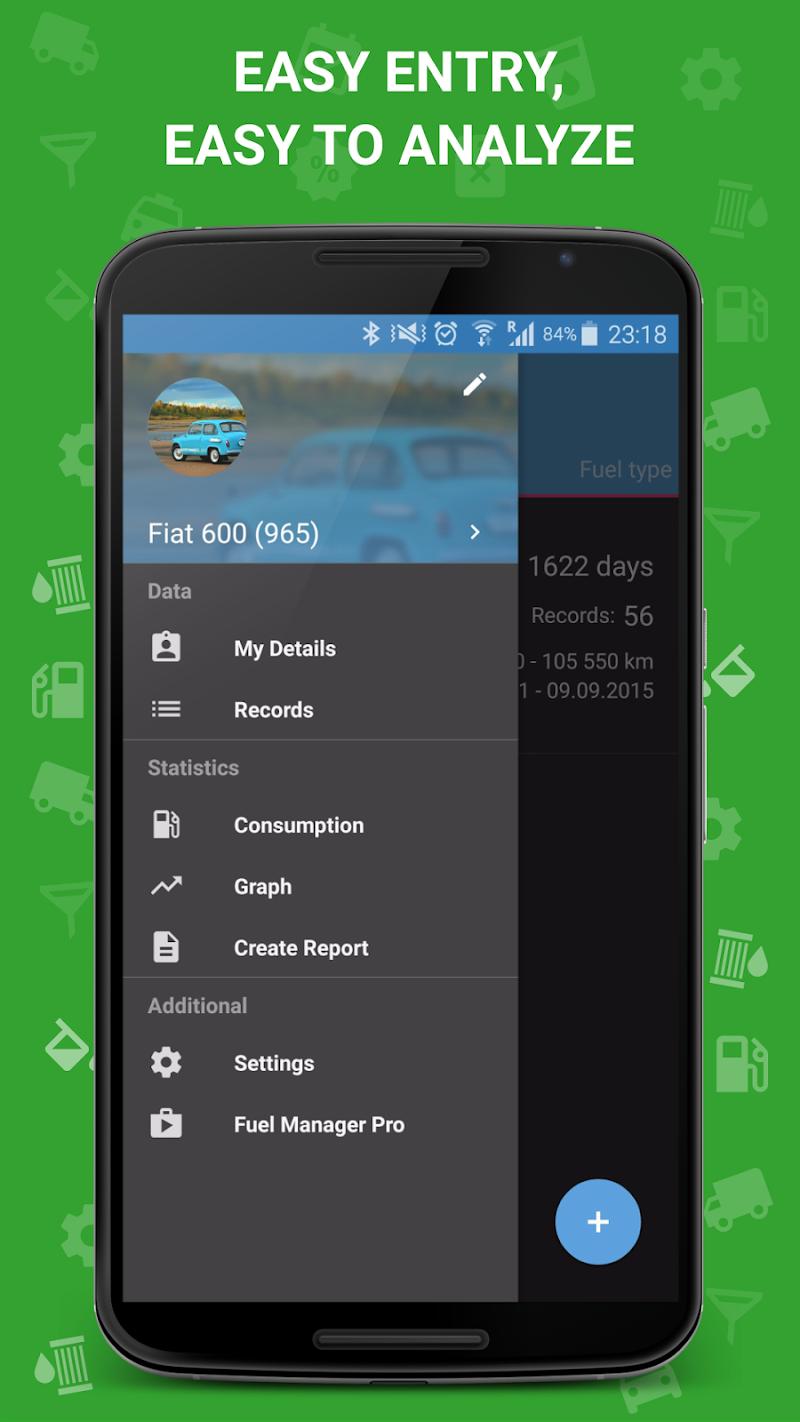 Fuel Manager Pro (Consumption) Screenshot 2