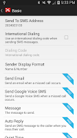 Screenshot of Missed Call Messenger Lite
