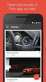 Fuelio: Fuel log & costs Screenshot 2