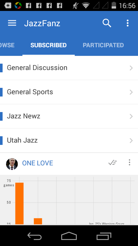 JazzFanz- screenshot