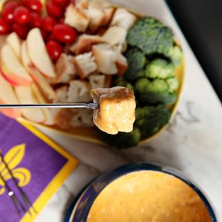 Spicy Cheddar Fondue