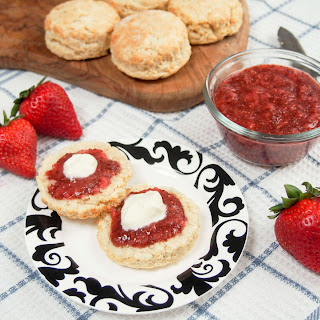 British scones (for an American 'cream tea')